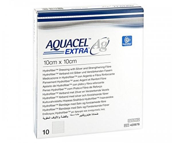 Convatec AQUACEL™ Ag EXTRA™ Hydrofiber™ Kompresse
