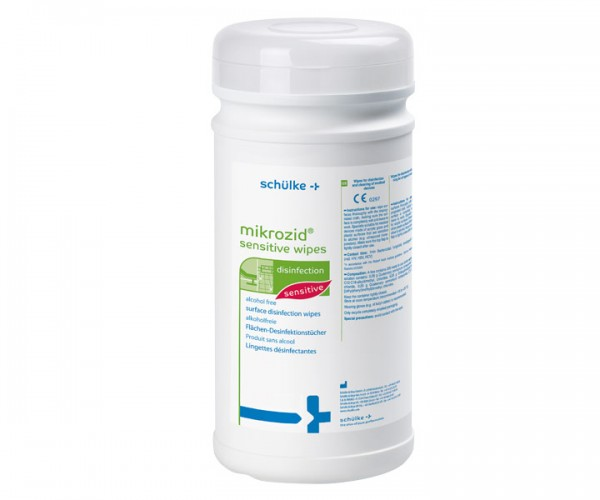 Schülke mikrozid sensitive wipes