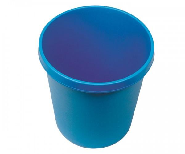 Papierkorb blau