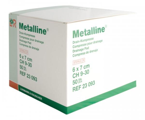 Metalline®-Drain Schlitzkompressen