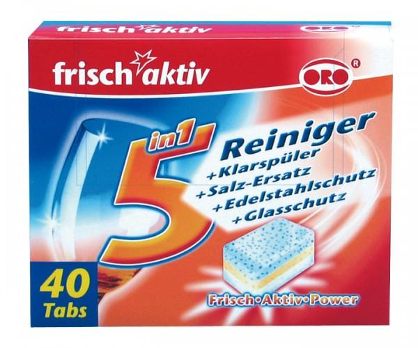 ORO frisch-aktiv Spülmaschinentabs 5 in 1