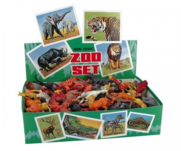 Miratoi Spielzeugsortiment Zoo-Tiere