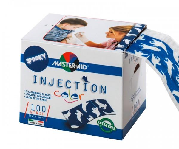 Kinder-Injektionspflaster Spooky mit Gespenstern