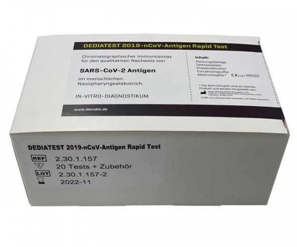 DEDIATEST 2019-nCoV-Antigen Rapid Test