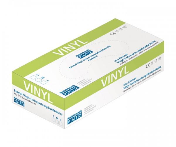 PATZ Vinyl-Handschuh, puderfrei