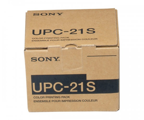 Sony Videoprinter-Papier UPC-21 S