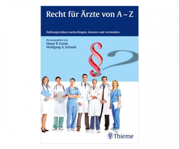 Buch Recht für Ärzte A-Z