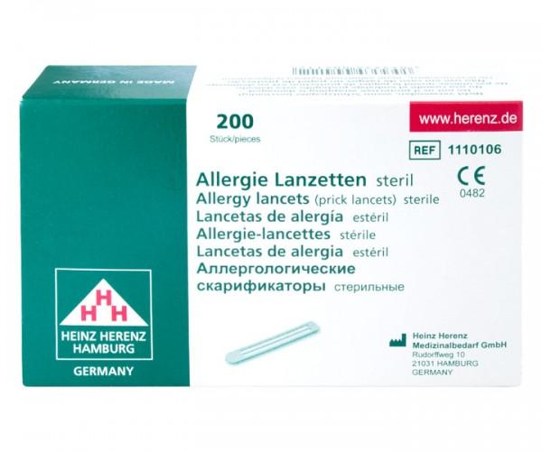 Prick-Test Allergielanzetten
