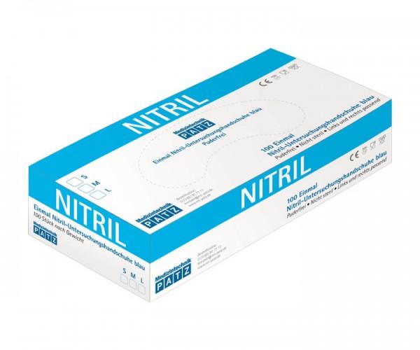 PATZ Nitril-Handschuh, puderfrei