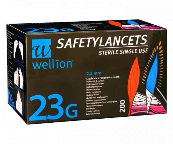 Sicherheitslanzetten Wellion Safety