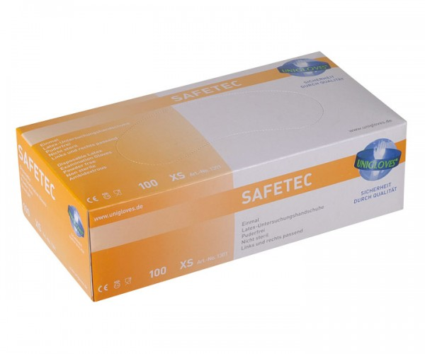 Unigloves Safetec Latex-Handschuh