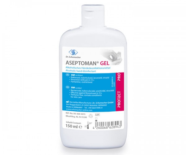 Dr. Schumacher Aseptoman Gel 150 ml